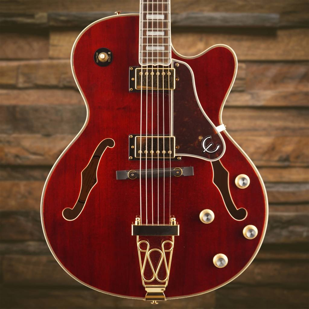 Epiphone ETEPWRGH1 Joe Pass Emperor-II PRO Wine Red Gold Hardware