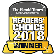 badge Winner Herald Tribune Reader's Choice 2018