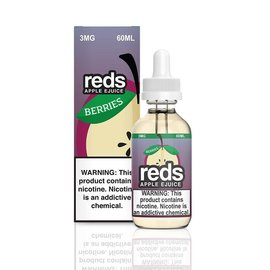 Reds Berries 3mg 60ml eLiquid by 7 Daze