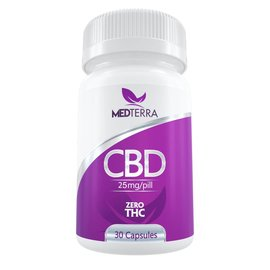 Medterra CBD CBD Gel Caps 30ct 25mg by Medterra CBD