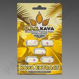 O.P.K. Kava Capsules 5 pack by Choice Organics and OPK