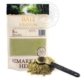 Remarkable Herbs Kratom 8 oz Bali by Remarkable Herbs