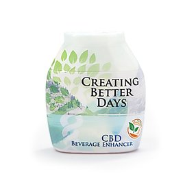 Creating Better Days CBD Beverage Enhancer Orange Sitrus 200mg by Creating Better Days