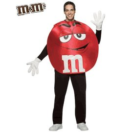 Rasta Imposta M&M Red, Poncho - Adult One Size