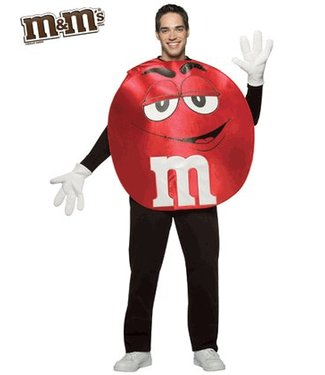 Rasta Imposta M&M Red, Poncho - Adult One Size