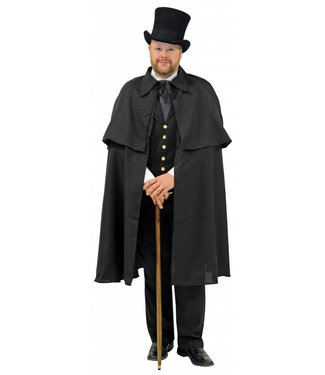 Dickens Cape, Black - Adult by Underwraps