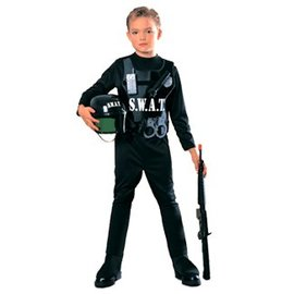 Rubies Costume Company S.W.A.T. Team Large Swat Child