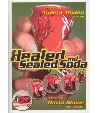 USED Healed And Sealed Soda, Booklet by Anders Moden