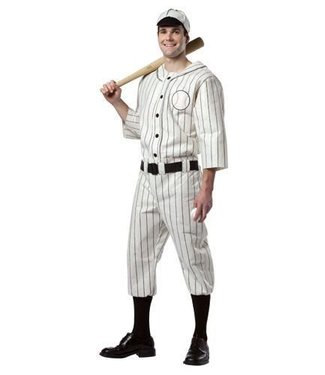 Old Tyme Baseball Player - Adult One Size