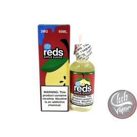 Iced Reds Apple 3mg 60ml eLiquid by 7 Daze