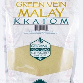 Whole Herbs Kratom 8 oz Green Vein Malay by Whole Herbs
