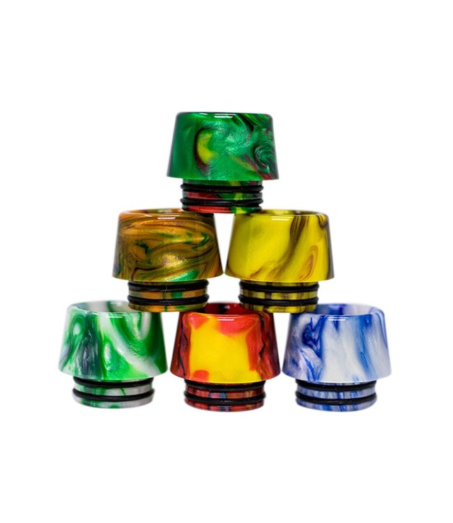 Medusa Distribution Drip Tip Green - Resin 510 Compatible