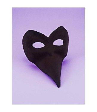 Forum Novelties Mask Long Nose - Black