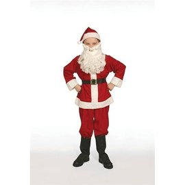 Halco Economy Santa Suit Child Size 8-10