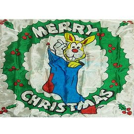 Silk Merry Christmas 16 x 16 inch, Merry Christmas by Mr. Magic M10