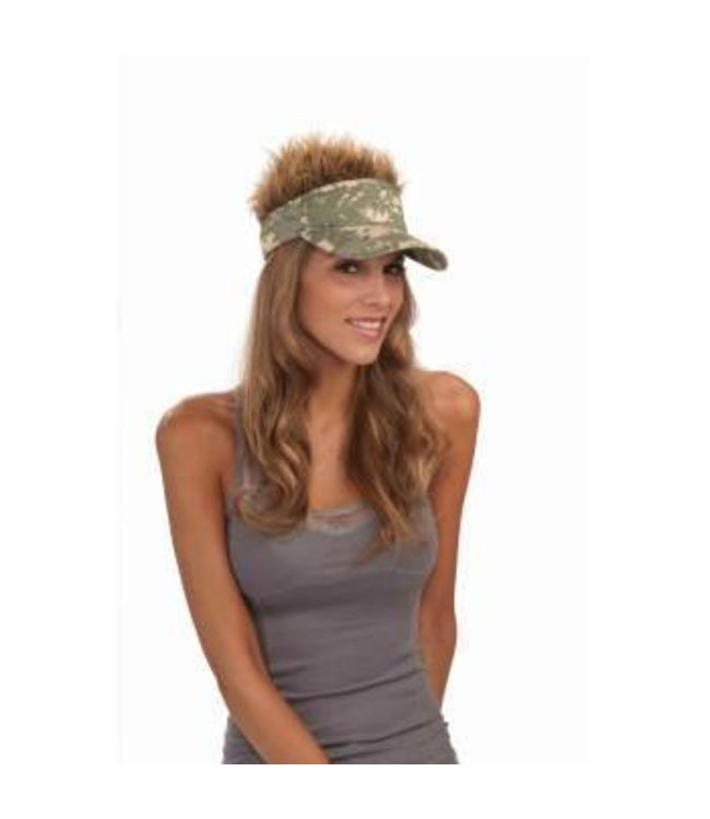 Forum Novelties Camo Hair Visor