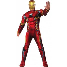 Rubies Costume Company Iron Man Deluxe - Adult Standard 44