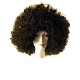 Morris Costumes Deluxe Afro Black Wig
