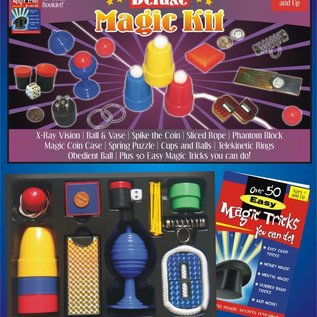 Deluxe Magic Kit by Trickmaster Magic