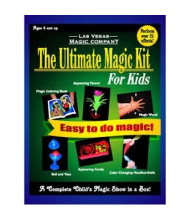Ultimate Magic Kit For Kids by Las Vegas Magic Company