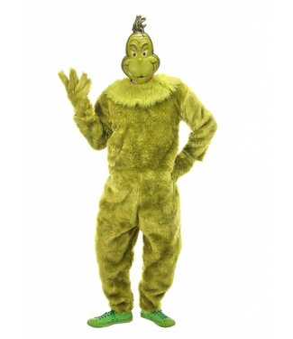 Elope The Grinch Deluxe Fur Jumpsuit Mens L/XL by Elope