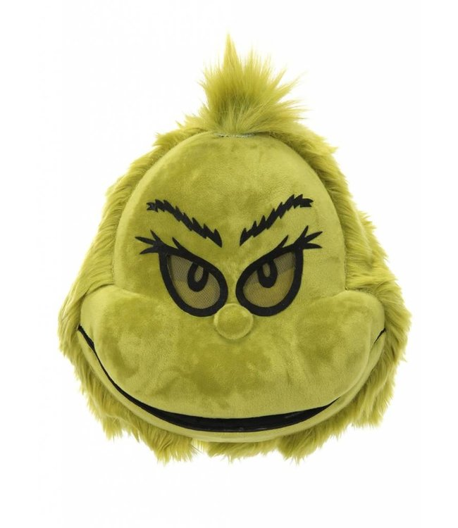 Elope Mask The Grinch, Plush Mouth Mover by Elope