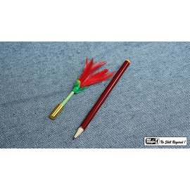Pencil To Flower by The Essel Magic