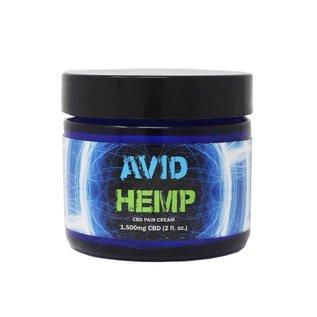 Avid Hemp CBD CBD Pain Cream 1500mg by Avid Hemp