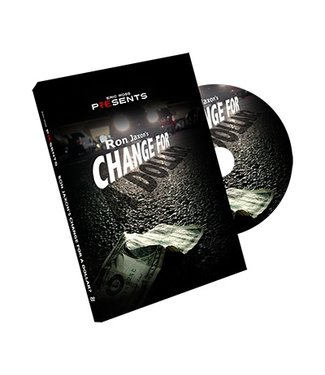 Change for a Dollar, DVD with Mismade Bill Gimmick by  Ron Jaxon and Eric Ross M10