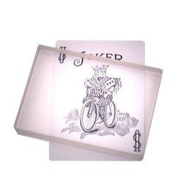 The Essel Magic Glass Card Deck by The Essel Magic w