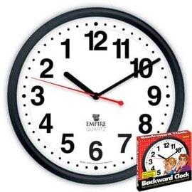 Loftus International Backwards Clock by Empire Magic