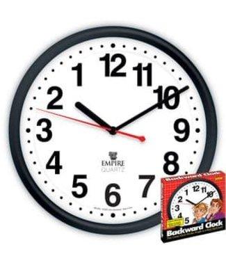 Backwards Clock by Empire