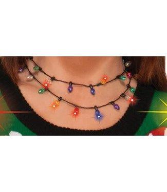 Forum Novelties Christmas Bulb Necklace - Light Up by Forum Novelties
