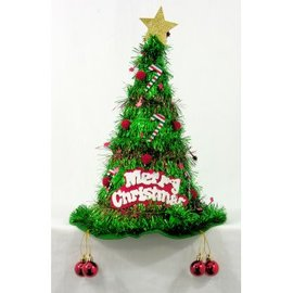 Forum Novelties Christmas Tree Tinsel Hat by Forum Novelties