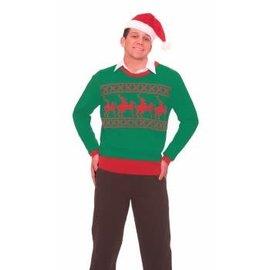 Forum Novelties Christmas Sweater Reindeer Games X-Rated Large 42-44 by Forum Novelties