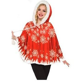 Forum Novelties Snowflake Capelet Adult One Size by Forum Novelties