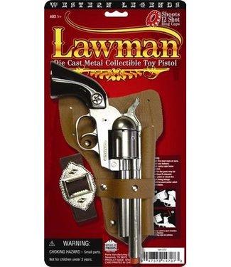 Cap Gun Western Lawman by Parris Manufacturing