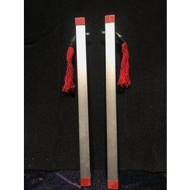 EBAY Vintage Magic Chinese Sticks Square Metal 13 1/2 inches