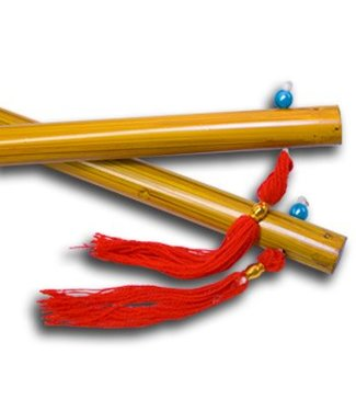 Chinese Sticks, Wood Finish - 14 inches by The Essel Magic w /994