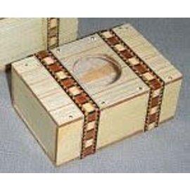 The Essel Magic Mexican Bill Box, Wood by The Essel Magic w