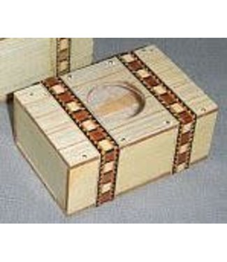 Mexican Bill Box, Wood by The Essel Magic w M10/993