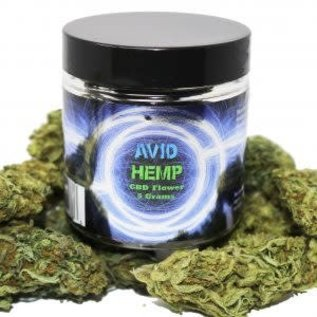 Avid Hemp CBD CBD Flower 5 gram 18%-20% by Avid Hemp