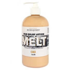Kush Queen CBD Melt Pain Relief Lotion 200mg 16 oz by Kush Queen