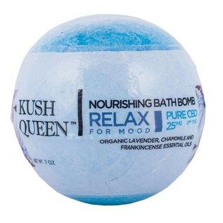 Kush Queen CBD Nourishing Bath Bomb Relax for Mood 25mg by Kush Queen