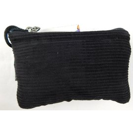 "Corduroy glass protection pouch with zipper closure 3""x5"" by Ixchel Inc."
