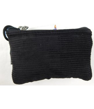 """Corduroy glass protection pouch with zipper closure 3""""x5"""" by Ixchel Inc."""