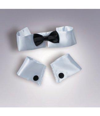 Forum Novelties Collar Tie And Cuff Set by Forum Novelties