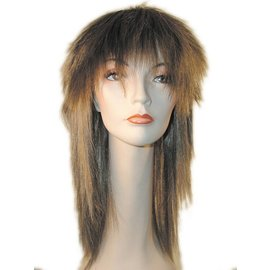 Morris Costumes and Lacey Fashions Tina, Deluxe - Auburn Wig