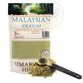 Remarkable Herbs Kratom Malaysian 8oz by Remarkable Herbs