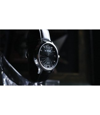 Infinity Watch V2 - Silver Case Black Dial, Gimmick and Online Instructions by Bluether Magic